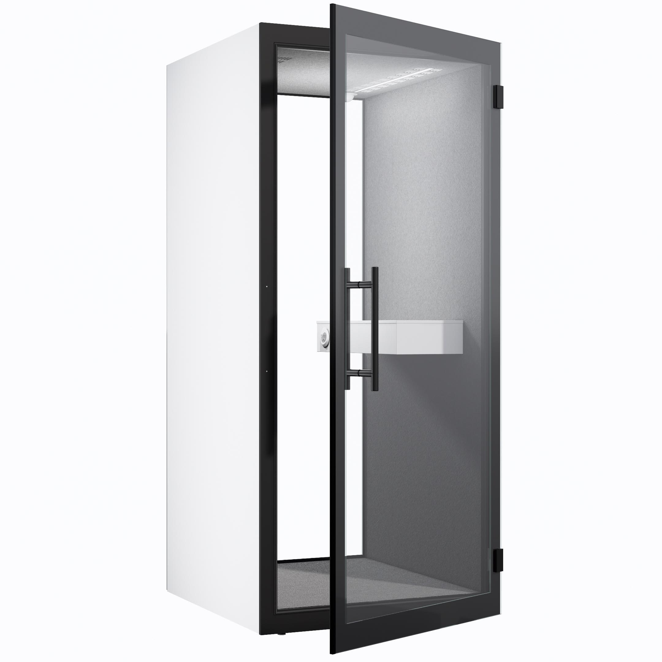 WHITE CHATBOX SINGLE-OPEN DOOR
