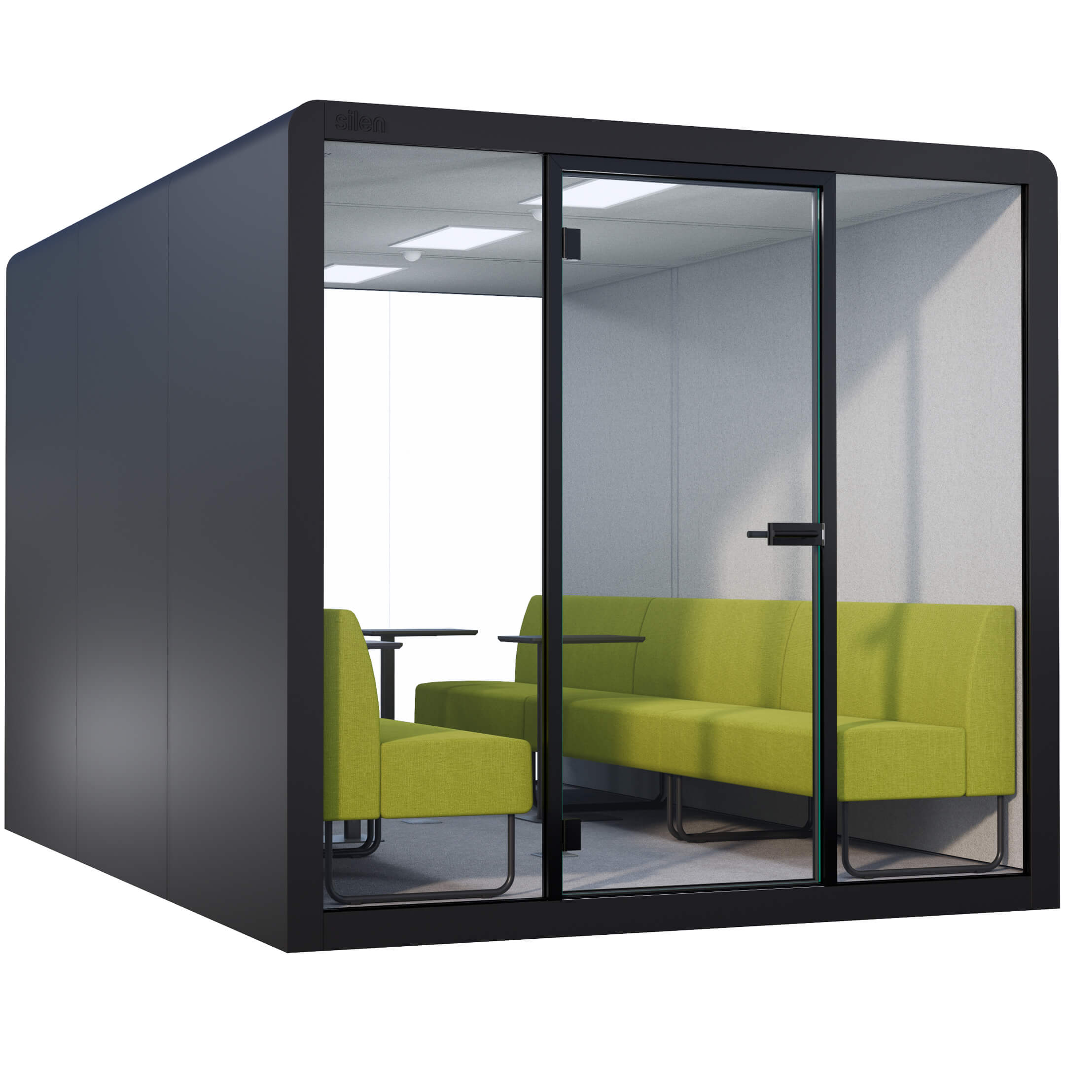 BLACK SPACE 6 - LIME BENCHES