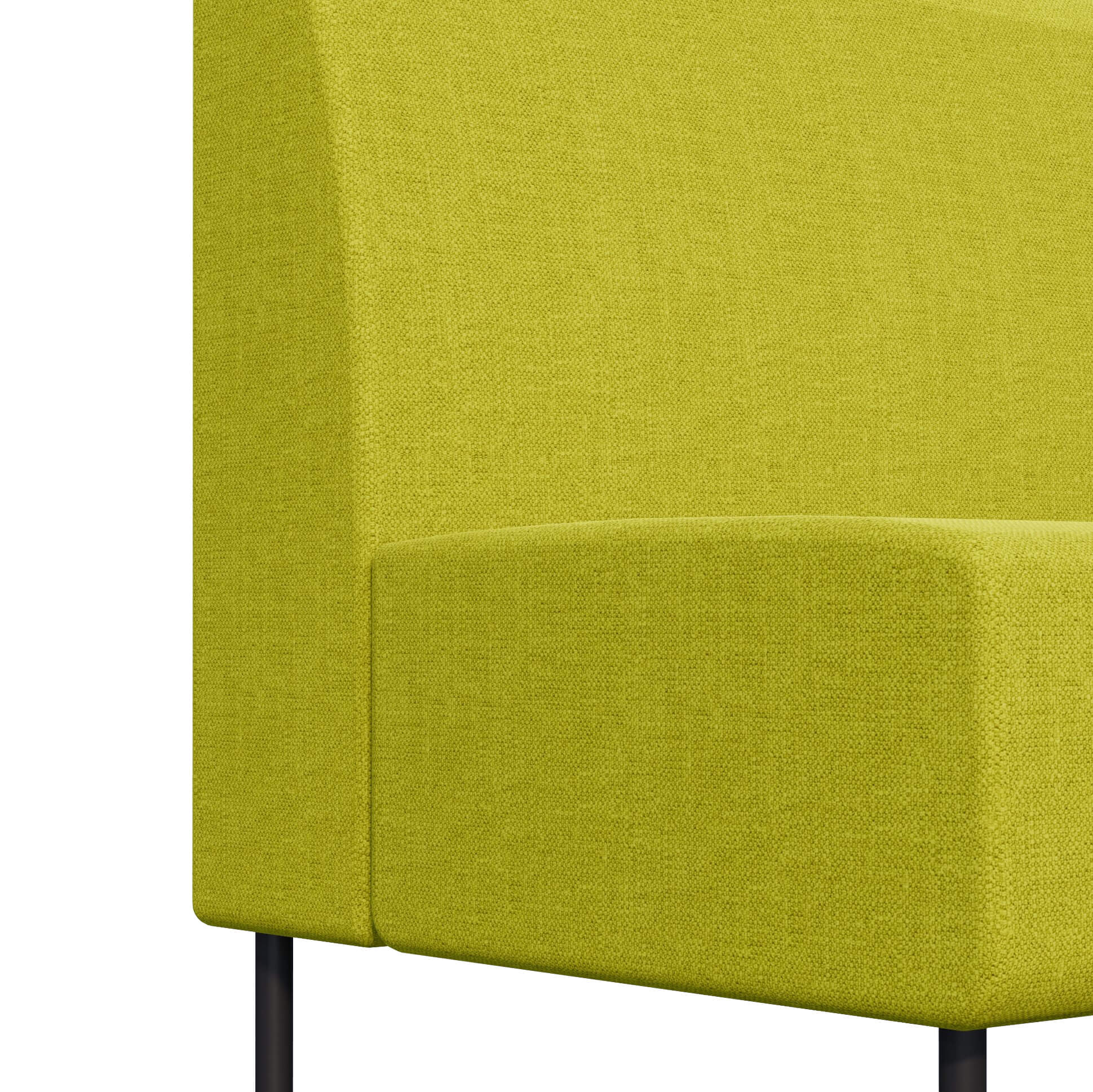 LIME LOW BACK BENCH FABRICS