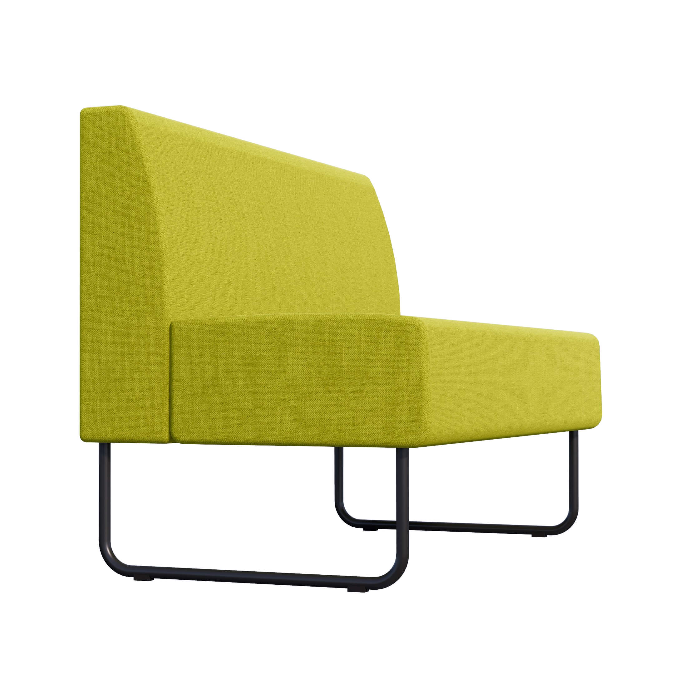 LIME LOW BACK BENCH