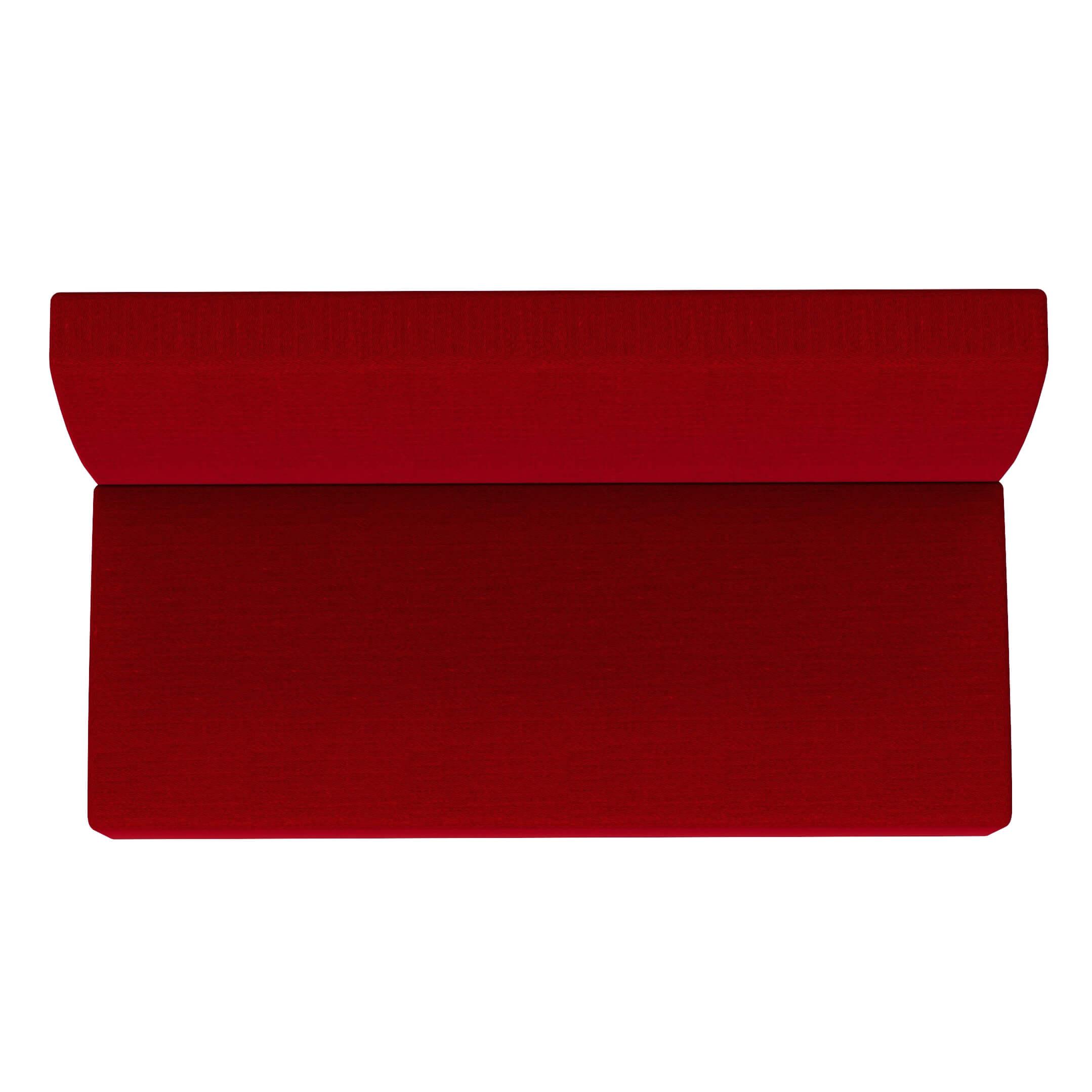 RED MELANGE LOW BACK BENCH FABRICS