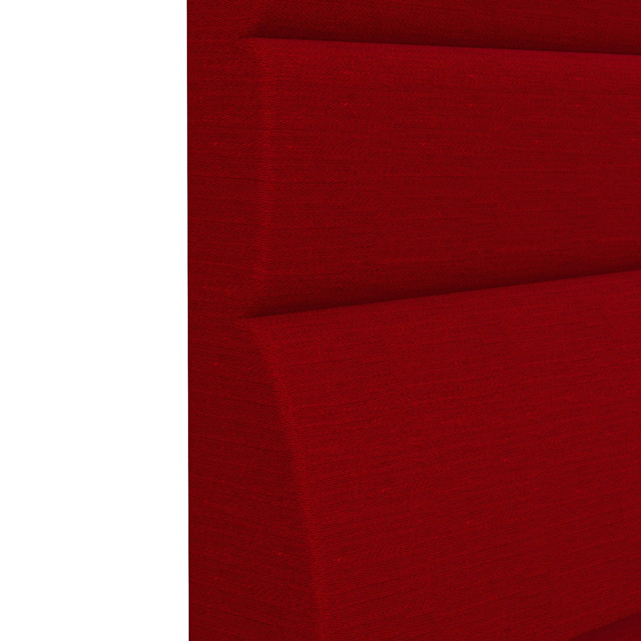 RED MELANGE_HIGH BACK BENCH FABRICS