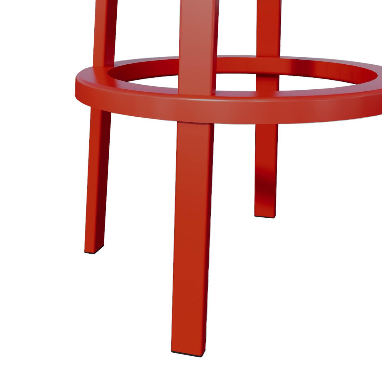 RED STOOL - BASE