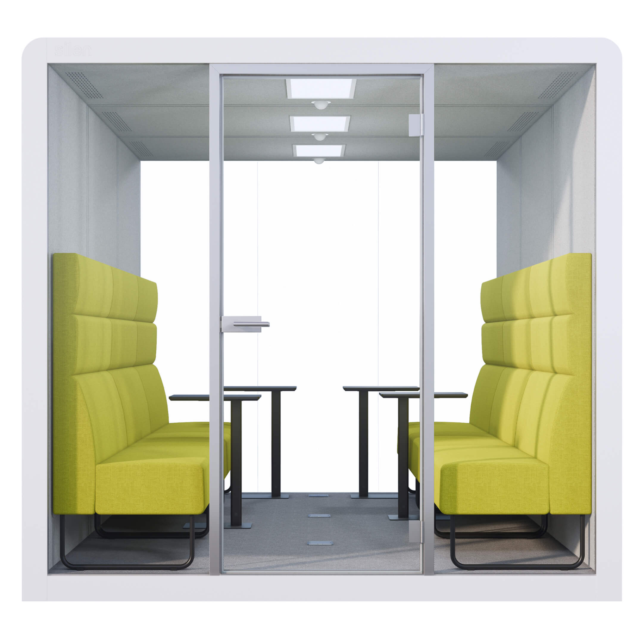 WHITE SPACE 6 - LIME BENCHES