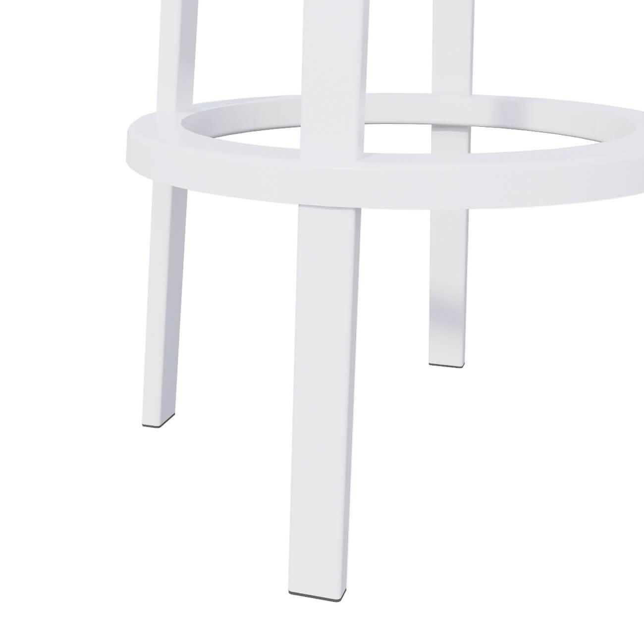 WHITE STOOL - BASE
