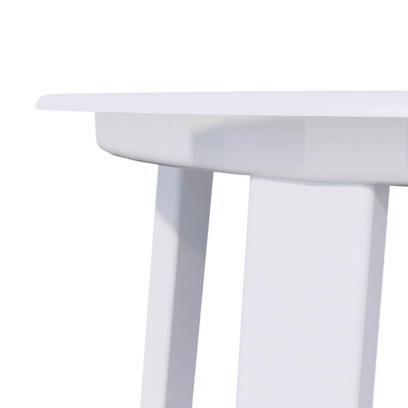 WHITE STOOL - SEAT